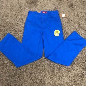 Blue dickies pants